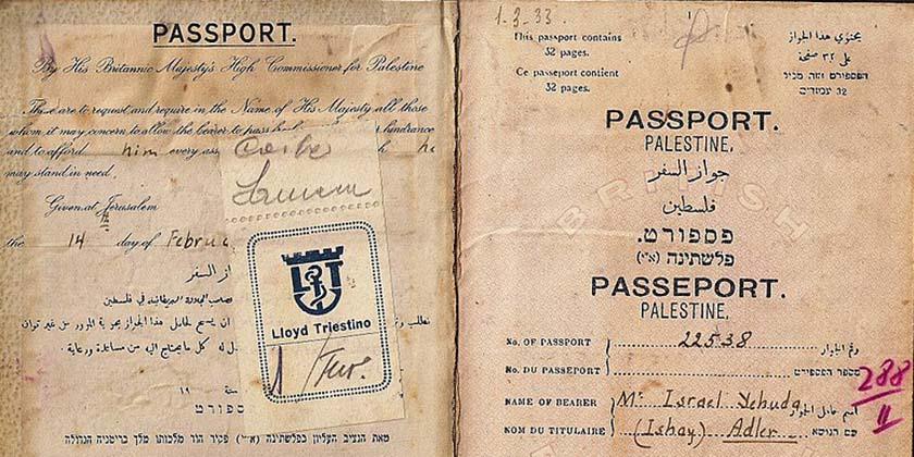 Условие въезда в Палестину – прививки и дезинфекция