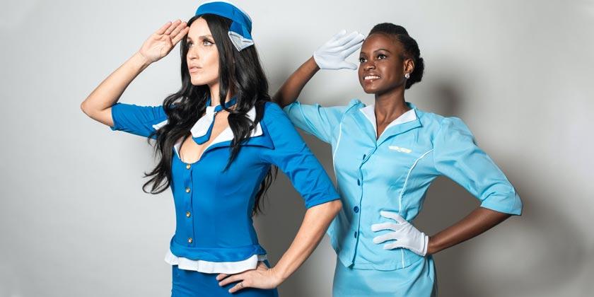 pexels-rodnae-productions-Stewardess-plane